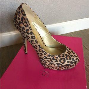 Leopard Print Heels - NWT Shoedazzle